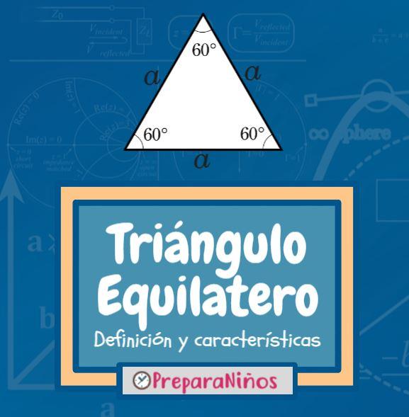 Triangulo equilatero para ninos
