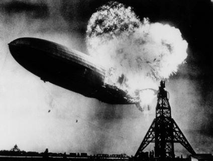 Explosion del Zepelin Hindenburg