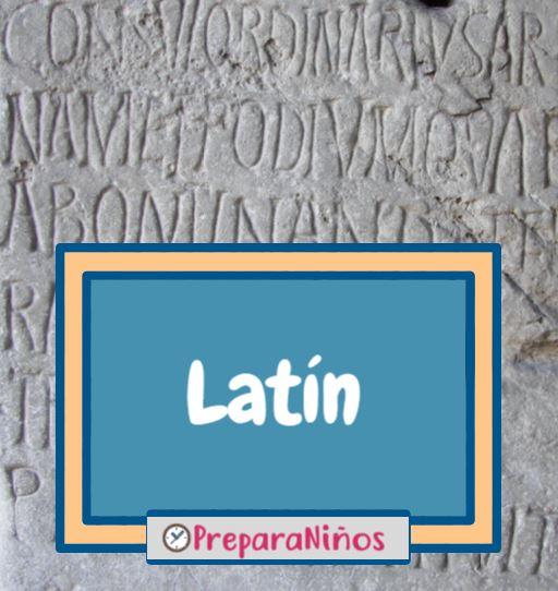 Latin para niños