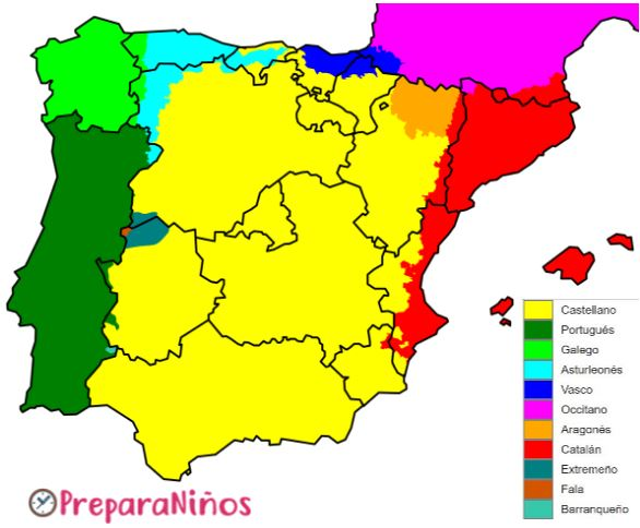 Lenguas de la Peninsula Iberica