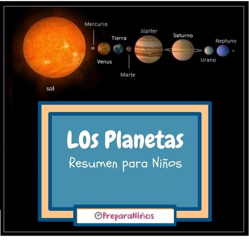 Los Planetas Para Niños de Primaria