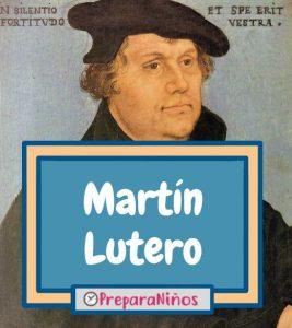 Martin Lutero para niños