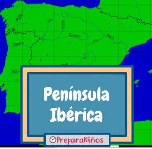 Península Ibérica para niños