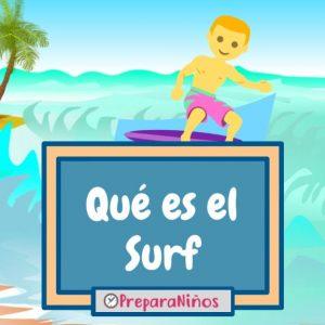 Qué es el Surf para niños