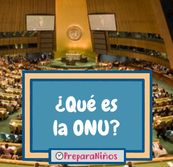 Que es la ONU para niños