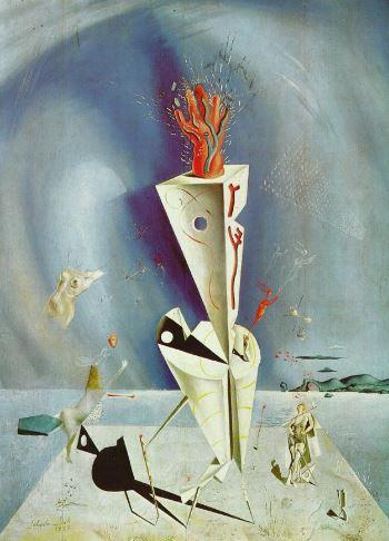 Aparatos y Mano Salvador Dali