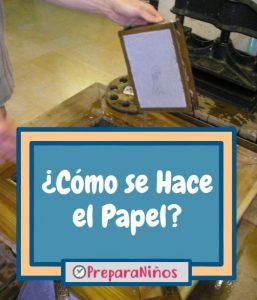 Como se hace el papel para ninos
