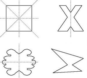 Ejemplos de Simetría