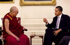 El Dalai Lama y Obama