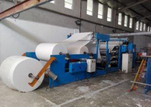 Fabricacion del papel a maquina