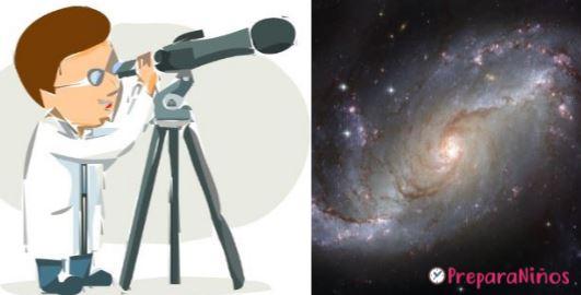Observar iuna galaxia