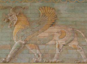 Grifon, parte de la cultura persa
