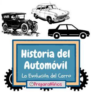 Historia del Automovil para niños