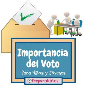 Importancia Del Voto