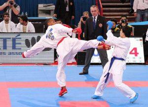 Karate como deporte