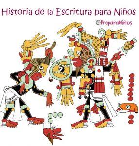 La Historia de la Escritura para Niños: Los Mayas