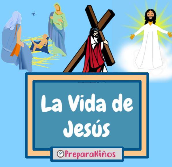 La Vida De Jesús Resumen Cronología E Historia Contada Para Niños
