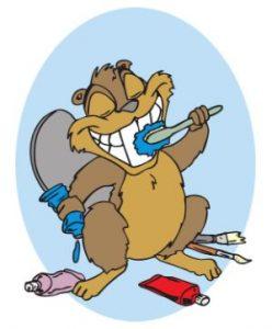 Hánitos de higiene: Lavarse los dientes