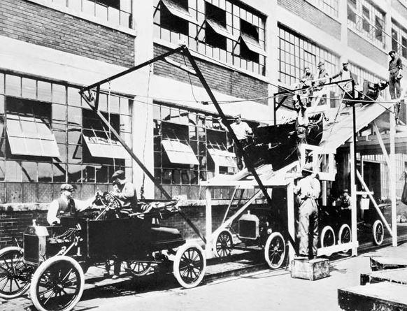 Linea de montaje de Ford