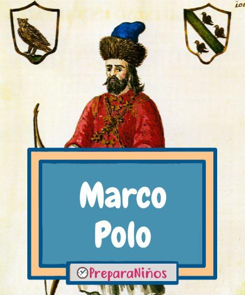 Marco Polo para niños