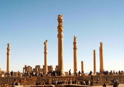 Persepolis, Capital del Imperio Persa