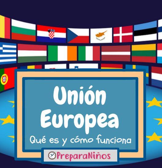 Que es la Union Europea para niños