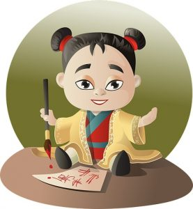Origen de la escritura China