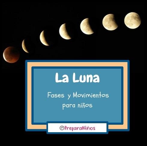 Qué es la Luna: Las fases de la Luna para niños