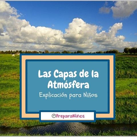 Las Capas de la Atmósfera para Niños de Primaria