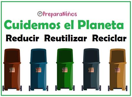Cómo cuidar el Planeta 3R