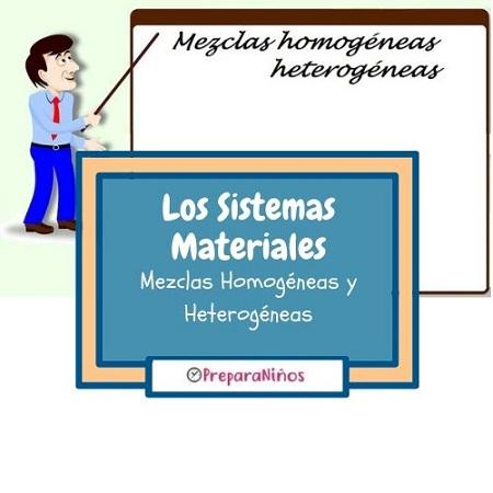 Las mezclas homogéneas y heterogéneas para niños
