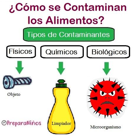 Contaminación: Física, química y biológica para niños
