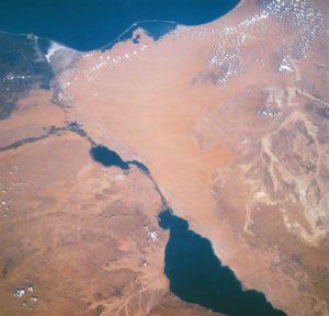 Golfo de Suez y península Sinaí