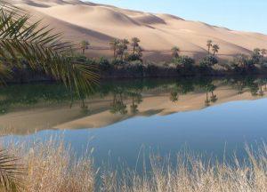 Agua en el Sahara