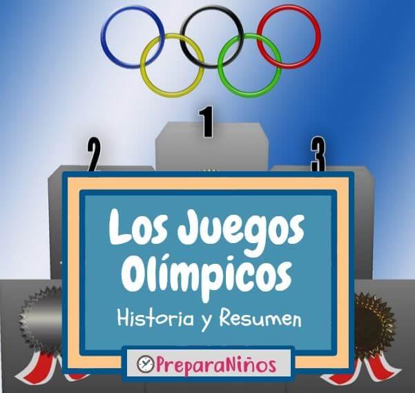 Los Juegos Olimpicos Resumen Para Niños