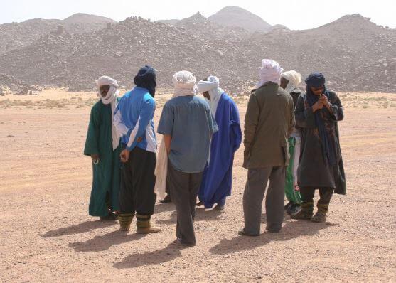 Vida en el desierto del Sahara