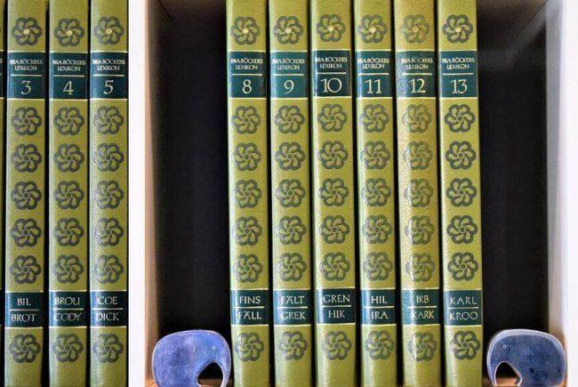 Volumenes de una enciclopedia