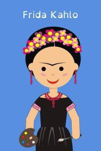 Historia de Frida Kahlo para Niños de primaria