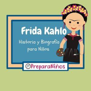 Biografía de Frida Kahlo para Niños