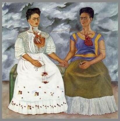 Las pinturas de Frida Kahlo: Las dos Fridas